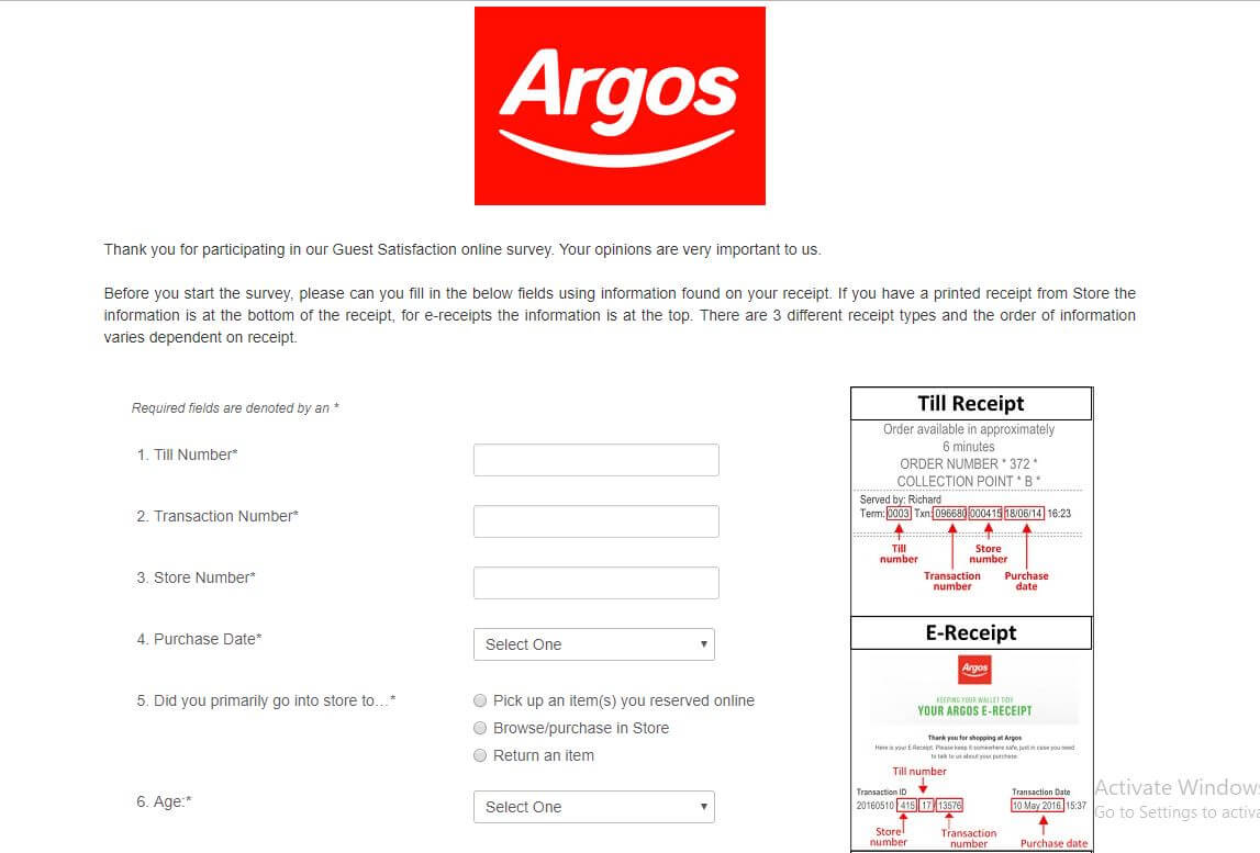 argos-survey
