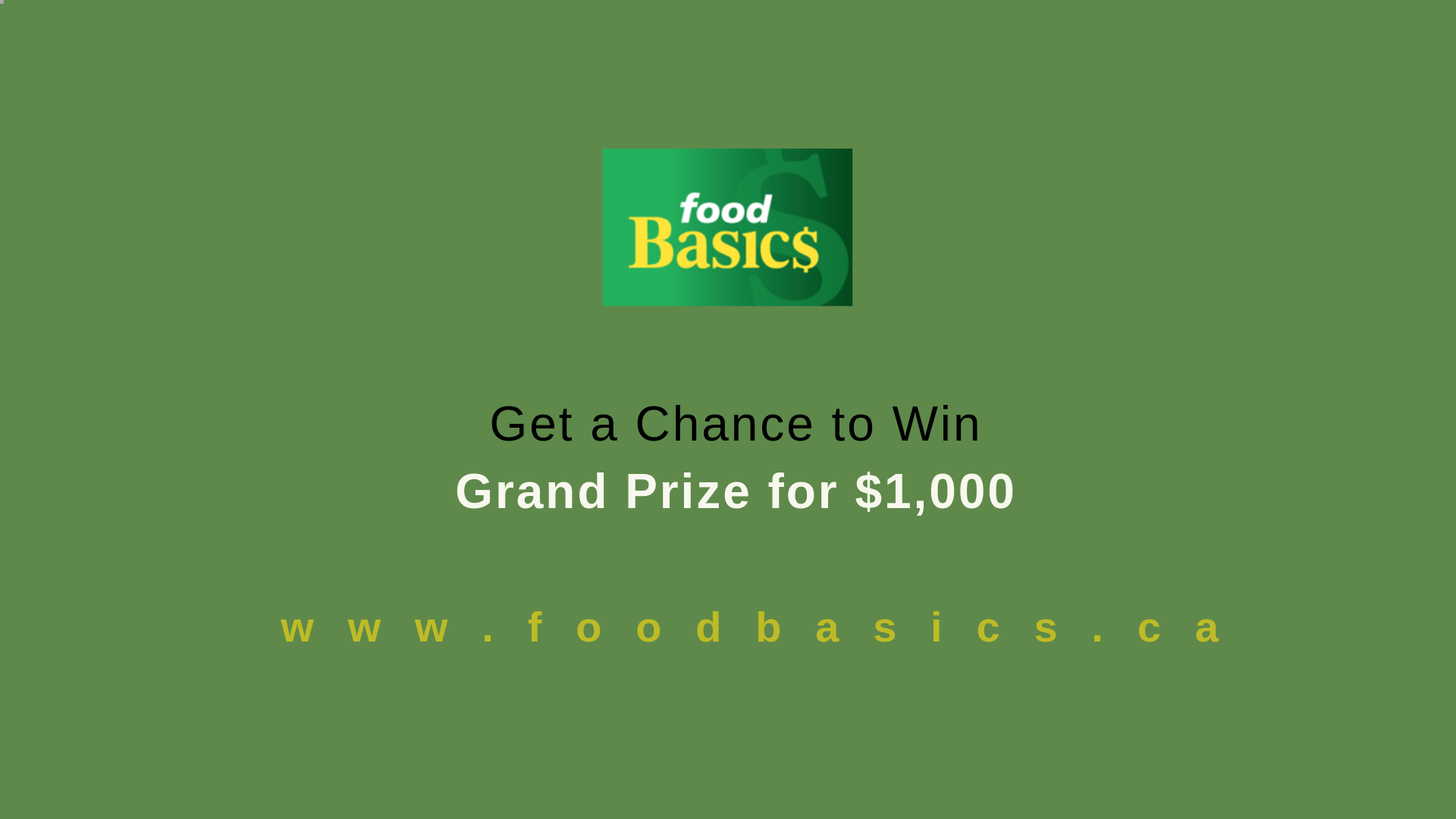 Foodbasicsfeedback | Get a Chance to Win Free Groceries for $1000