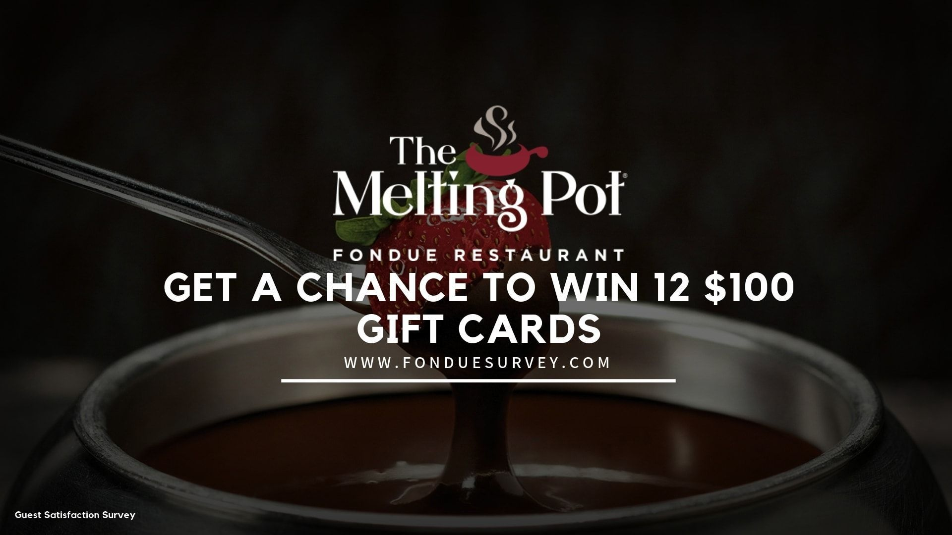 FondueSurvey- Take the Melting Point Survey & Win 12 Gift Cards Worth $100