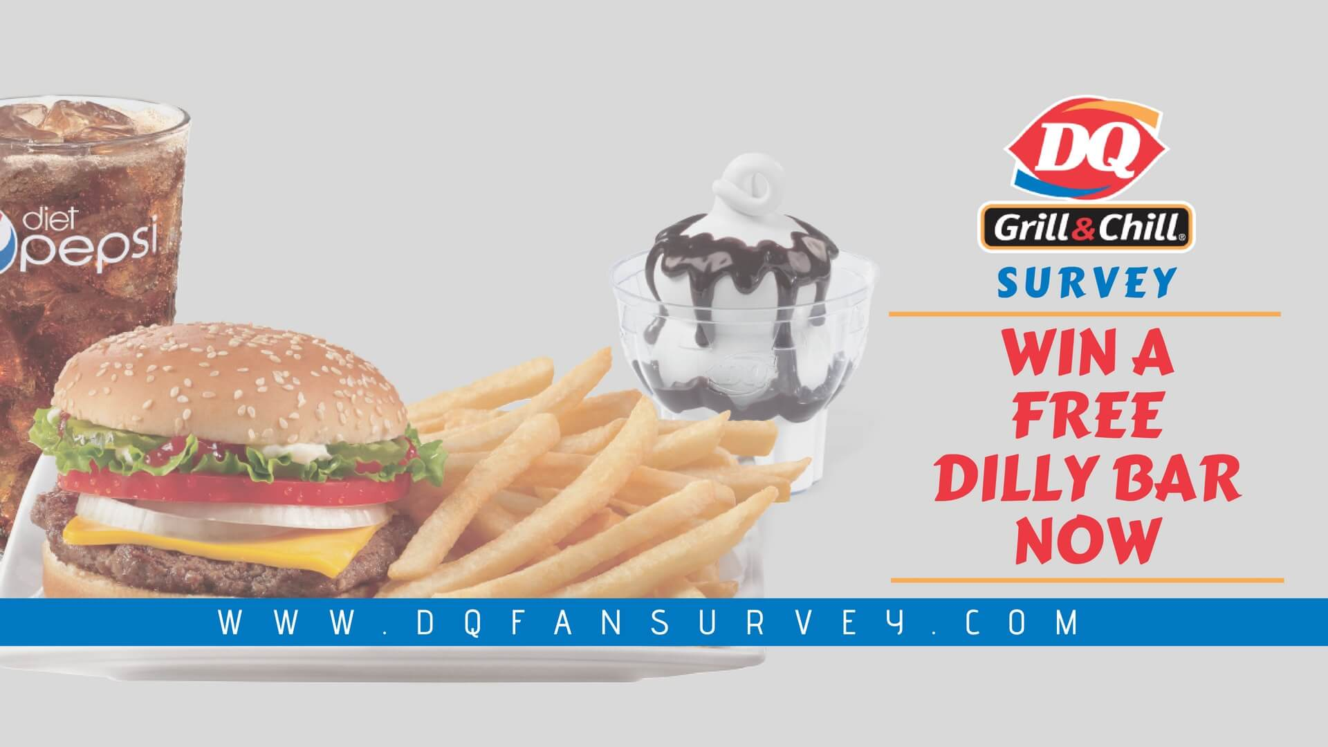 DQFanSurvey | Enter the Survey & get a Free Dilly Bar!