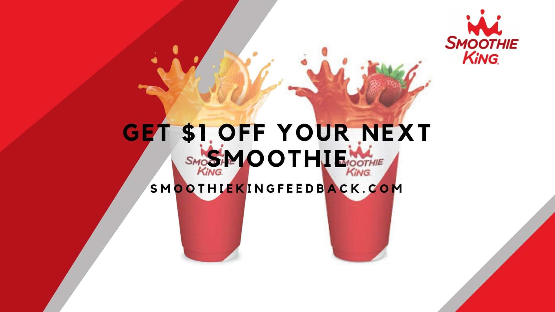 Smoothie King Feedback | Win Smoothie King Coupons