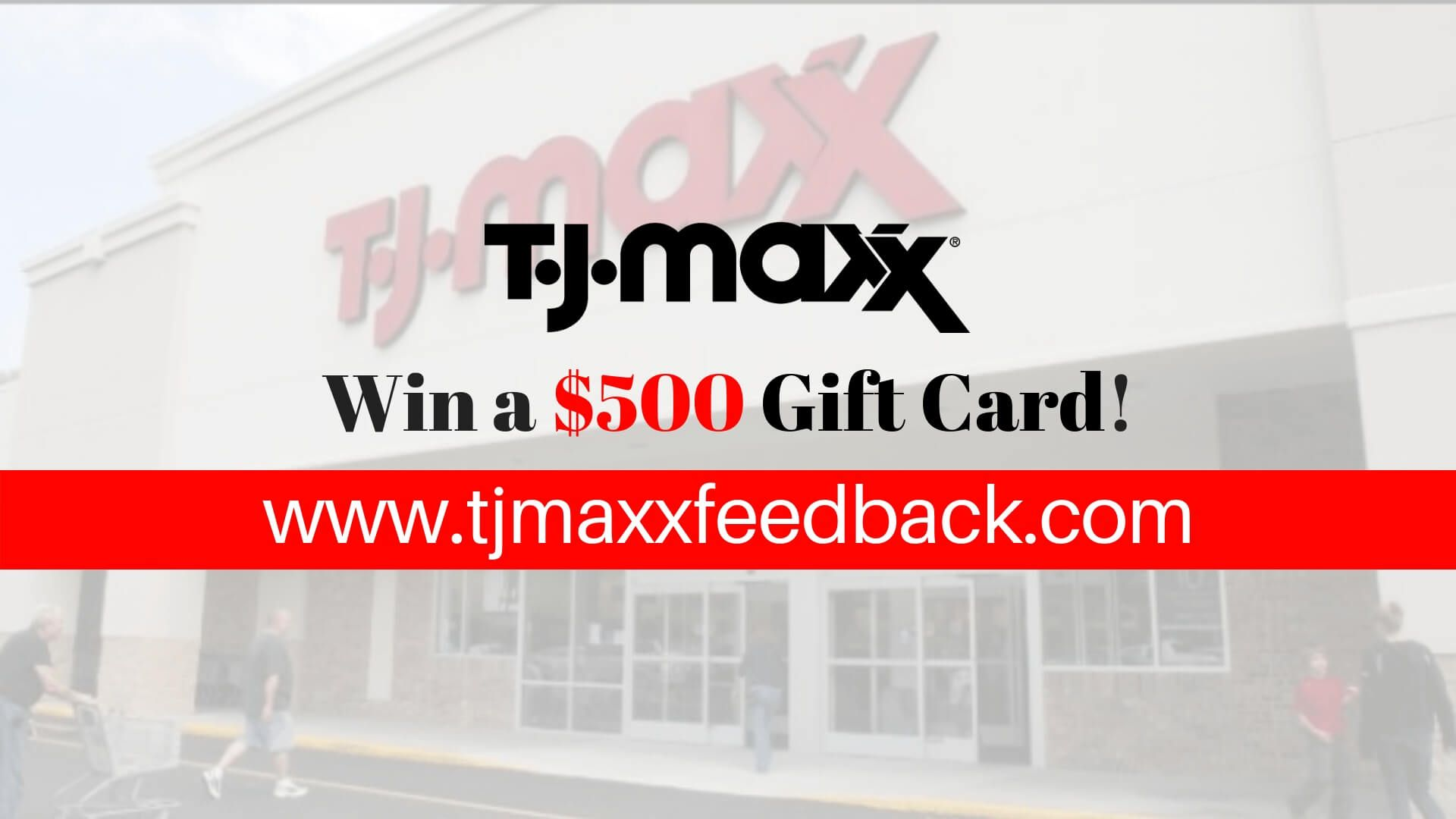 Complete Tjmaxxfeedback survey to Win $500 Gift Card