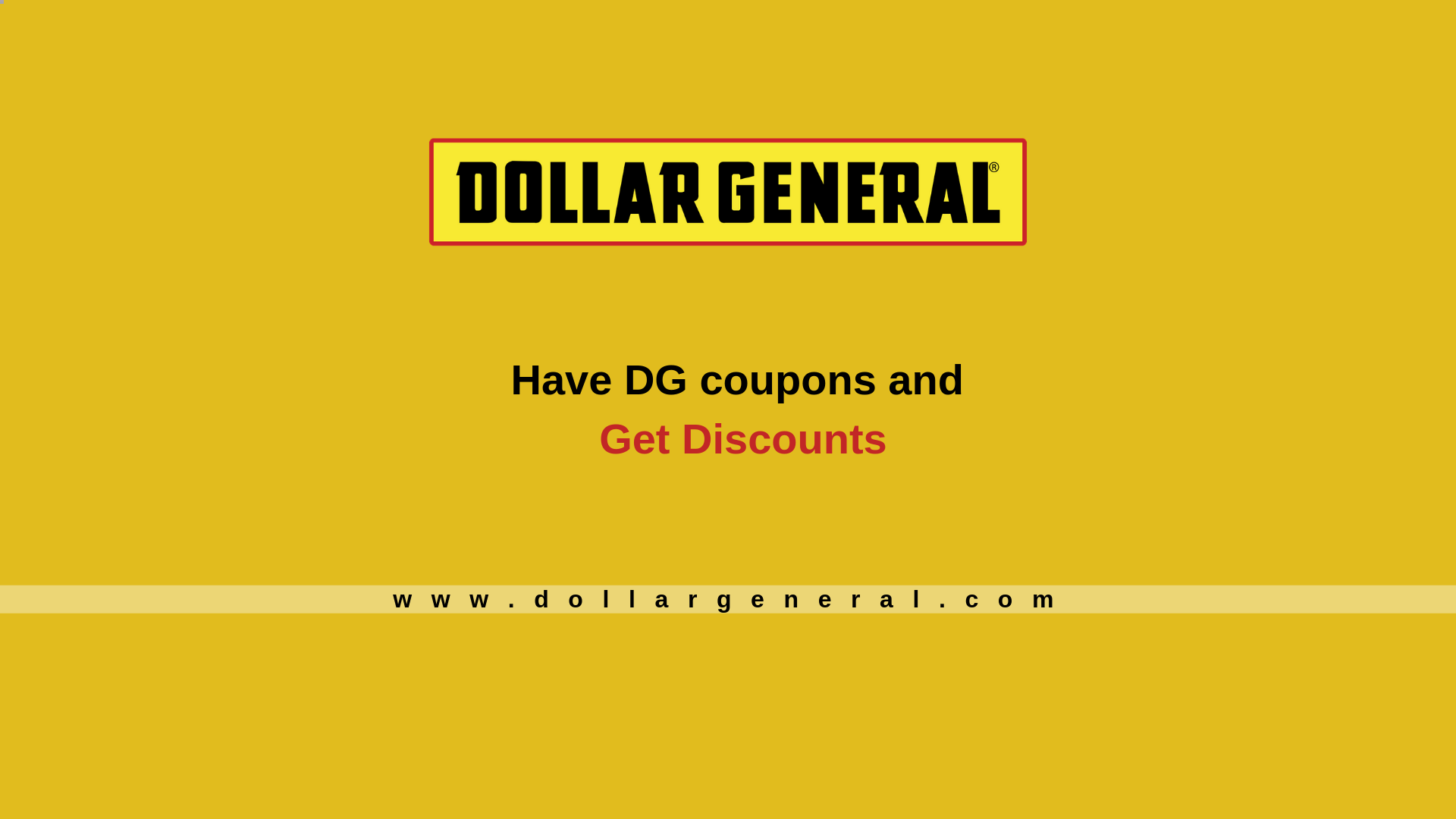Get Exciting Discounts with DG Coupons