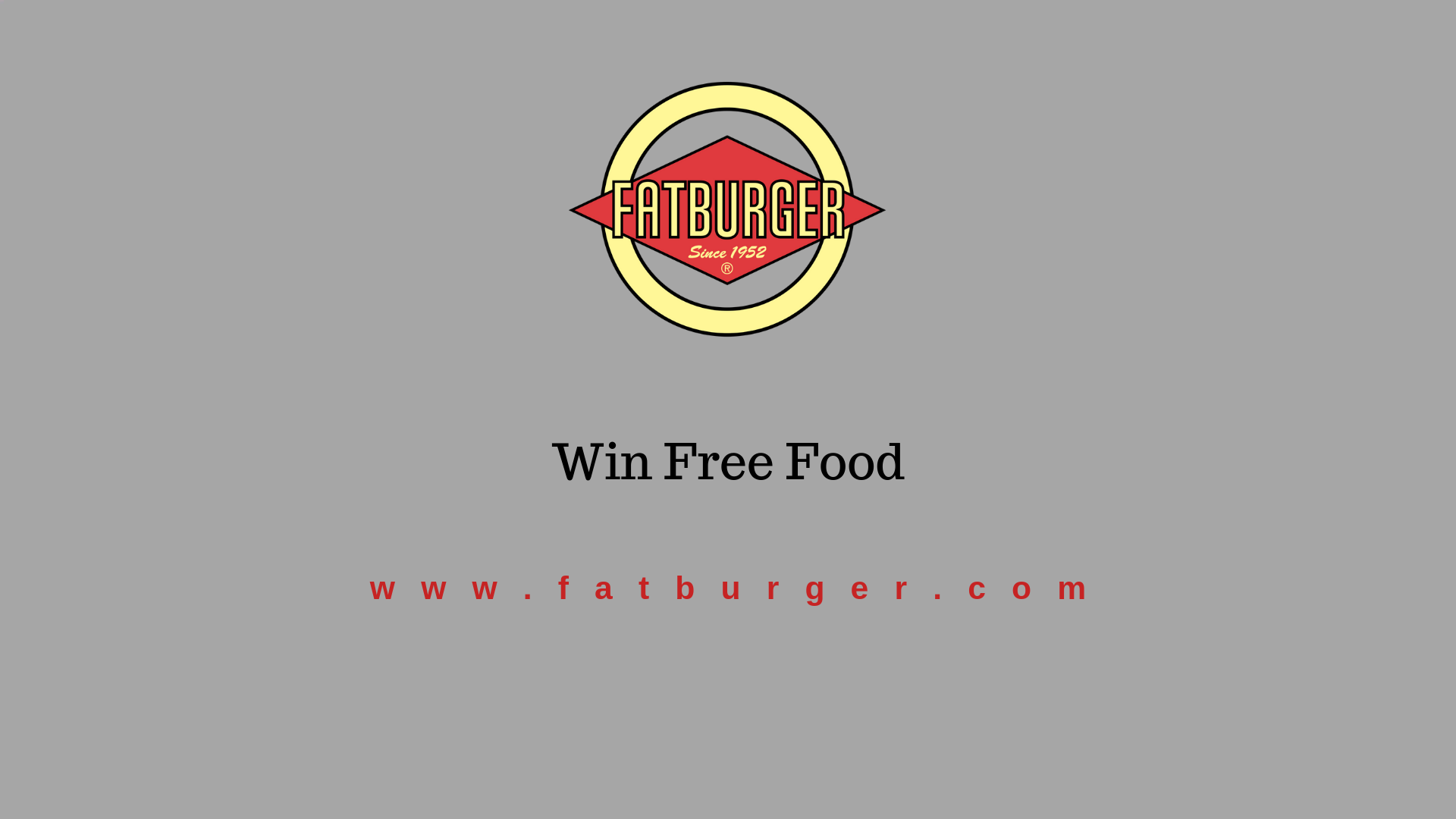 Fatburger.com Feedback Survey- Win Validation Code🎊