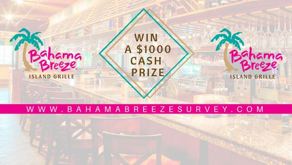 Bahamabreezesurvey | Win $1000 Cash Prize in Sweepstakes Competition