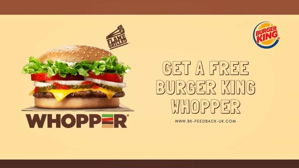 Bk-feedback-Uk | Take The Survey To Enjoy Free Burger King Whopper