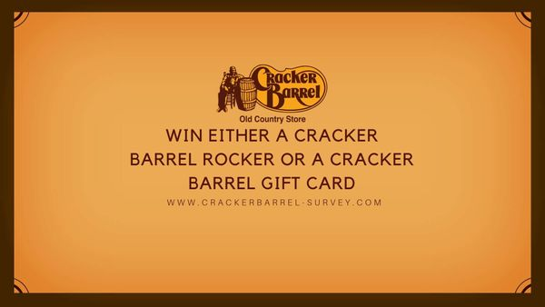 Cracker Barrel Survey: Win Rocking Chair or $100 Gift Card