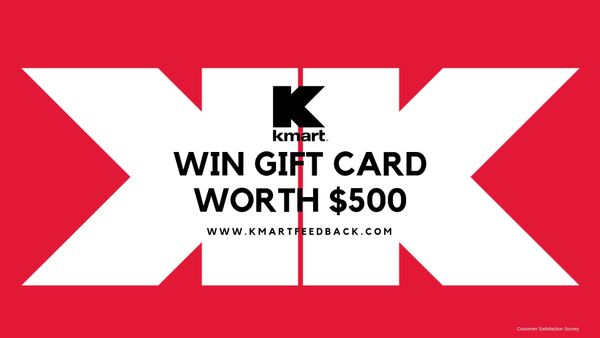 Kmartfeedback  Win $4000 Kmart Gift Card in Monthly Sweepstakes
