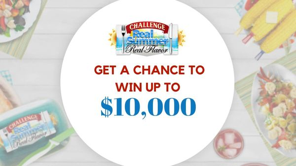 Realsummerrealflavor: Spin Wheel to Win $10,000 With Challenge Butter
