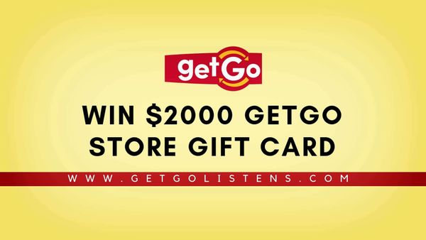 Getgolistens | Win $2000 GetGo Store Gift card