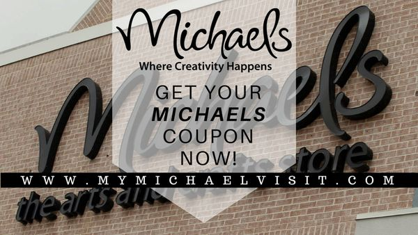 MyMichaelsVisit | Win Coupon Codes at www.mymichaelsvisit.com