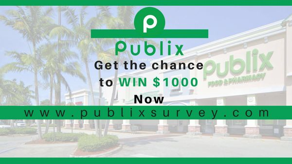 PublixSurvey Offers You A Reward of $1000 Gift Card
