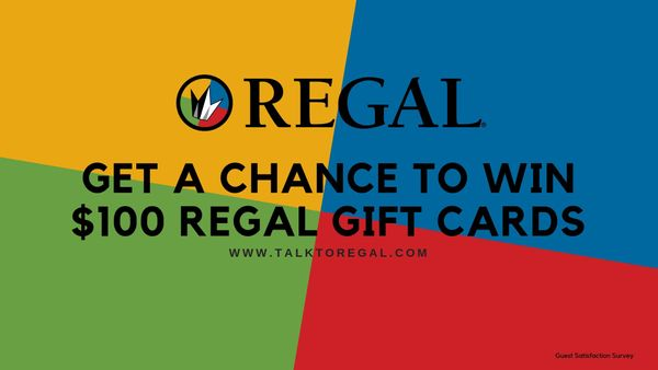 Talktoregal | Take Survey To Win $100 Regal Gift Cards