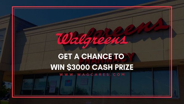 www.wagcares.com | Win $3000 For Taking Part In Walgreens feedback
