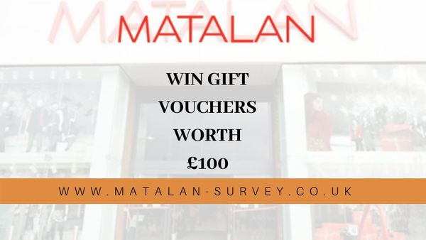 matalan-survey.co uk | matalan survey | Win Gift Vouchers Worth £100