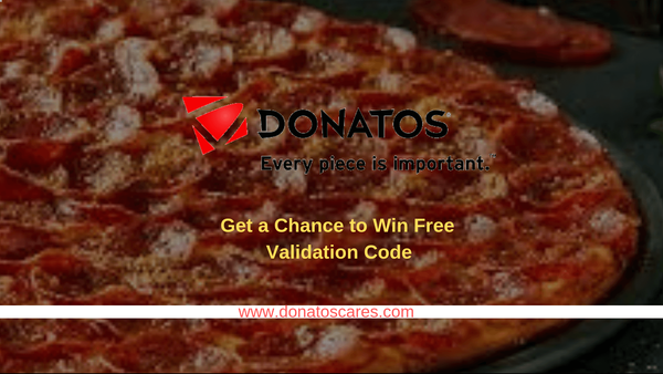 Donatoscares | Get a chance to Win Validation Code