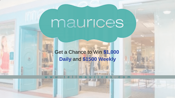 Tellmaurices | Get a chance to win $1000 daily and $1500 Weekly✨