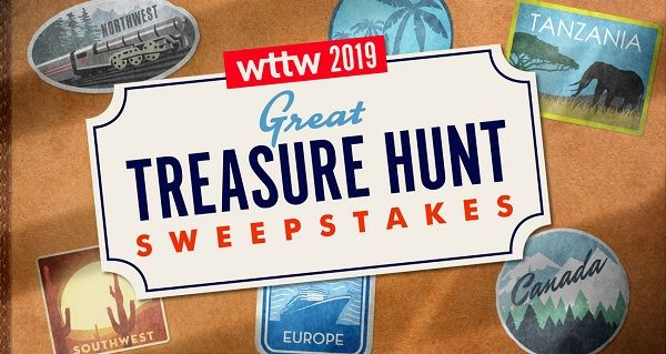 WTTW Great Treasure Hunt Sweepstakes 2019 - And Win $200000 Cash Prize